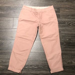NWOT Sz 4 Jcrew Oxford Scout Chino Pant- blush